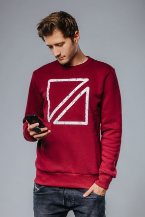 Izzi bordeaux Sweater